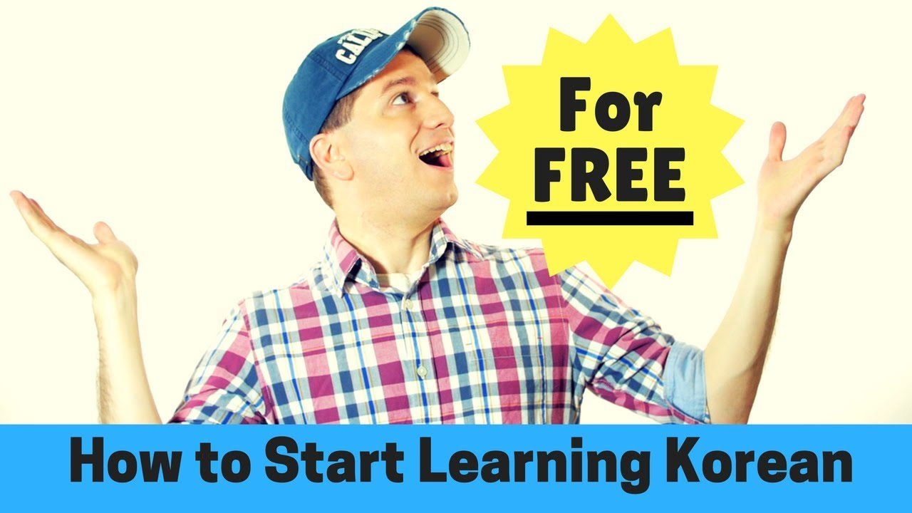 how to learn korean for free